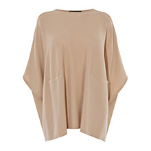 Buy Karen Millen Fine Gauge Poncho, Camel Online at johnlewis.com