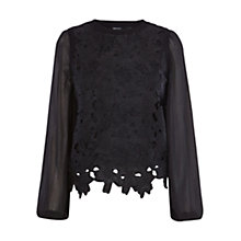 Buy Karen Millen Vintage Lace Jumper Online at johnlewis.com