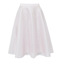 Buy Ted Baker Alishia Mesh Ribbed Full Skirt, Lilac Online at johnlewis.com