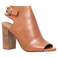 Buy Carvela Assent Block Heeled Peep Toe Sandals Online at johnlewis.com