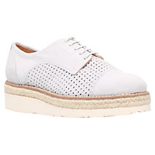 Buy Carvela Lucky Brogues, Grey Suede Online at johnlewis.com