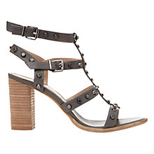 Buy Mint Velvet Billie Studded Block Heeled Sandals Online at johnlewis.com