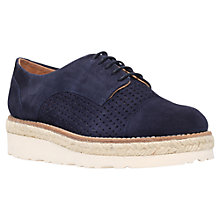 Buy Carvela Lucky Brogues, Navy Nubuck Online at johnlewis.com