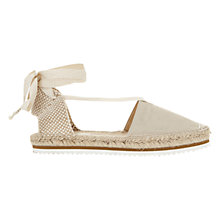 Buy Mint Velvet Brooklyn Two Part Espadrilles Online at johnlewis.com