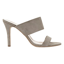 Buy Mint Velvet Lillia Stiletto Slip On Sandals, Stone Suede Online at johnlewis.com
