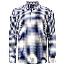 Buy John Lewis Gingham Oxford Shirt, Navy/White Online at johnlewis.com