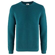 Buy Kin by John Lewis Ottoman Knit Jumper, Green Online at johnlewis.com
