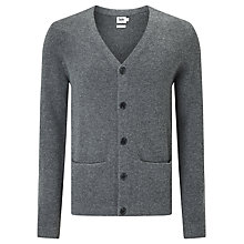 Buy Kin by John Lewis Felted Chunky Cardigan, Charcoal Online at johnlewis.com