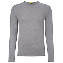 Buy BOSS Orange Kamer Cotton Crew Neck Jumper Online at johnlewis.com