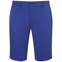 Buy BOSS Orange Chino Shorts, Medium Blue Online at johnlewis.com