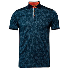 Buy Ted Baker Bopp Floral Print Polo Shirt Online at johnlewis.com