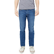 Buy Ted Baker Selsyn Straight Fit Jeans, Light Wash Online at johnlewis.com