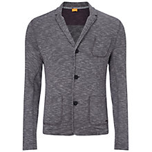 Buy BOSS Orange Watson Jersey Blazer, Light Pastel Grey Online at johnlewis.com