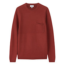 Buy Jigsaw High Twist Jumper, Sienna Online at johnlewis.com