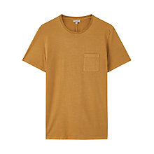 Buy Jigsaw Organic Cotton Garment Dye Pocket T-Shirt Online at johnlewis.com