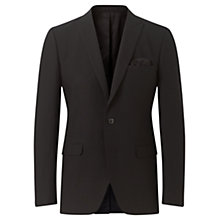 Buy Jigsaw Bloomsbury Tailored Fit Suit Jacket, Black Online at johnlewis.com