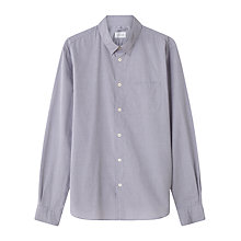 Buy Jigsaw Chambray Shirt, Grey Online at johnlewis.com