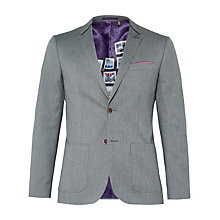 Buy Ted Baker Hearsay Mini Design Suit Jacket, Green Online at johnlewis.com