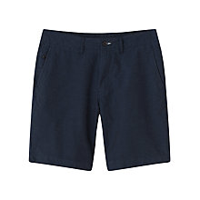 Buy Jigsaw Pin Dot Cotton Shorts, Navy Online at johnlewis.com
