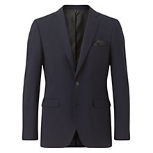 Buy Jigsaw Stretch 2 Button Jacket, Navy Online at johnlewis.com