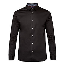 Buy Ted Baker Myplan Satin Stretch Shirt Online at johnlewis.com
