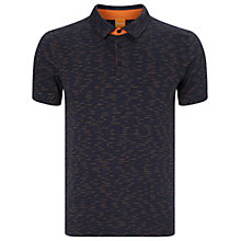 Buy BOSS Orange Picco Polo Shirt, Dark Blue Online at johnlewis.com