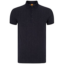 Buy BOSS Orange Peerson Polo Shirt, Dark Blue Online at johnlewis.com