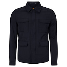 Buy BOSS Orange Otate Casual Field Jacket, Black Online at johnlewis.com