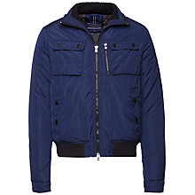 Buy Tommy Hilfiger Padded Jacket, Black Iris Online at johnlewis.com