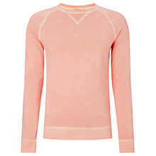 Buy BOSS Orange Wheel Jersey Top, Pastel Orange Online at johnlewis.com