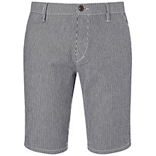 Buy BOSS Orange Sairy Shorts, Dark Blue Online at johnlewis.com