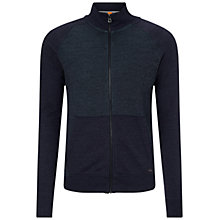 Buy BOSS Orange Zoover Sweatshirt, Dark Blue Online at johnlewis.com