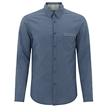 Buy BOSS Green Bicronio Shirt, Navy Online at johnlewis.com