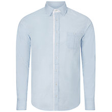 Buy BOSS Orange Eslime Shirt, Open Blue Online at johnlewis.com