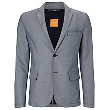 Buy BOSS Orange Beneslim Jacket, Light Blue Online at johnlewis.com