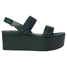 Buy Whistles Eden Flatform Sandals Online at johnlewis.com