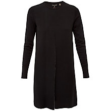 Buy Ted Baker Tahlea Front Fold Knitted Dress, Black Online at johnlewis.com