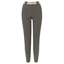 Buy Coast Dayo Jacquard Trousers, Mono Online at johnlewis.com