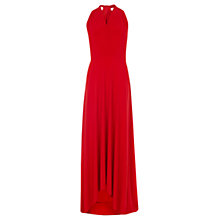 Buy Coast Corwin Multi Tie Dress, Red Online at johnlewis.com