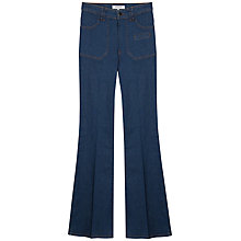 Buy Gerard Darel Flared Jeans, Blue Online at johnlewis.com
