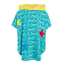 Buy John Lewis Girls' Mermaid Toweling Poncho, Blue Online at johnlewis.com