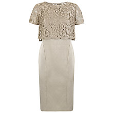 Buy Fenn Wright Manson Rockwell Dress, Gold Online at johnlewis.com