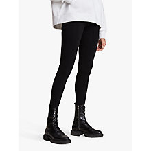 Buy AllSaints Bri Leggings, Black Online at johnlewis.com