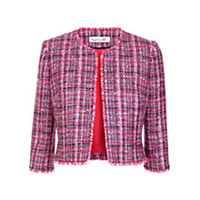 Buy Damsel in a dress Happy Tweed Jacket, Pink/Multi Online at johnlewis.com