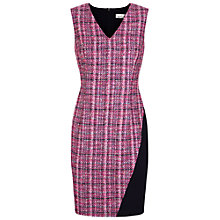 Buy Damsel in a dress Happy Tweed Dress, Pink/Multi Online at johnlewis.com