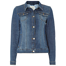 Buy White Stuff Everclear Denim Jacket, Mid Denim Online at johnlewis.com
