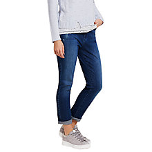 Buy Mint Velvet Tyler Girlfriend Jeans, Blue Online at johnlewis.com