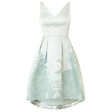 Buy Coast Raliera Texture Dress, Pale Blue Online at johnlewis.com