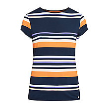 Buy Ted Baker Gelise Tribal Stripe T-Shirt, Navy Online at johnlewis.com