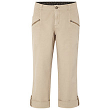 Buy White Stuff Lottie Crop Trousers, Neutral Online at johnlewis.com